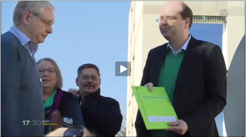 Agrarbündnis Niedersachsen übergibt Forderungskatalog an Landwirtschaftsminister Meyer