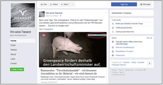 """Fragwürdiger Kommentar im Online-Magazin """"wir-sind-tierarzt"""" zum Schweinehaltungs-Rechtsgutachten von Greenpeace"""